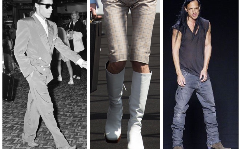 Men in heels – 3 Heeled boots making it into the modern mans wardrobe