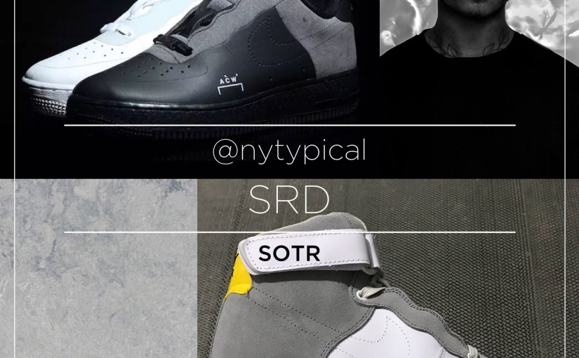 SOTR — Sneakers (Sneaker Sunday) : A Cold Wall Nike — Air Force 1 and Vomero +5SP