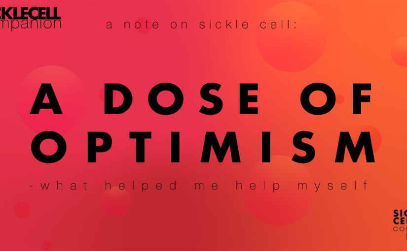 A Thought On: Why I Started 'A Note On Sickle Cell'