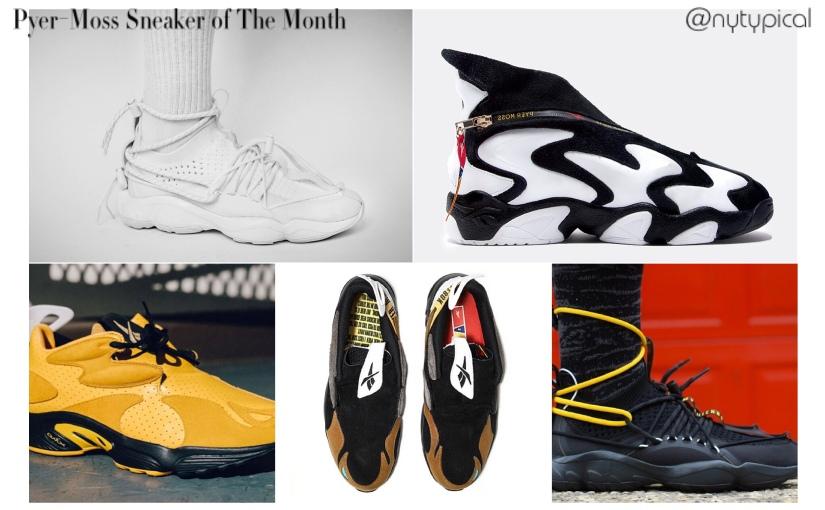 #SNEAKERSUNDAY Kick Of The Month  April — Pyer-Moss Reebok DMXDaytona