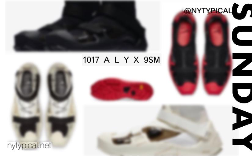 #SneakerSunday May – Alyx Nike FreeRUN with vibram CrampSole