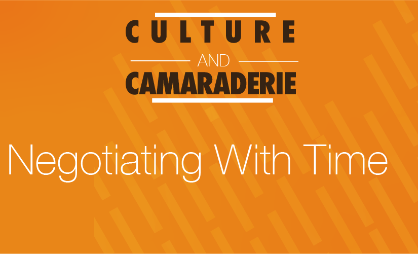 Culture and Camaraderie Podcast: Ep7 —  Negotiating With Time (@camaraderiepod)