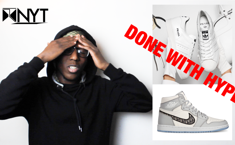 Arah on YouTube: FIRST LOOK – Dior X Jordan & Adidas X Prada – REACTION
