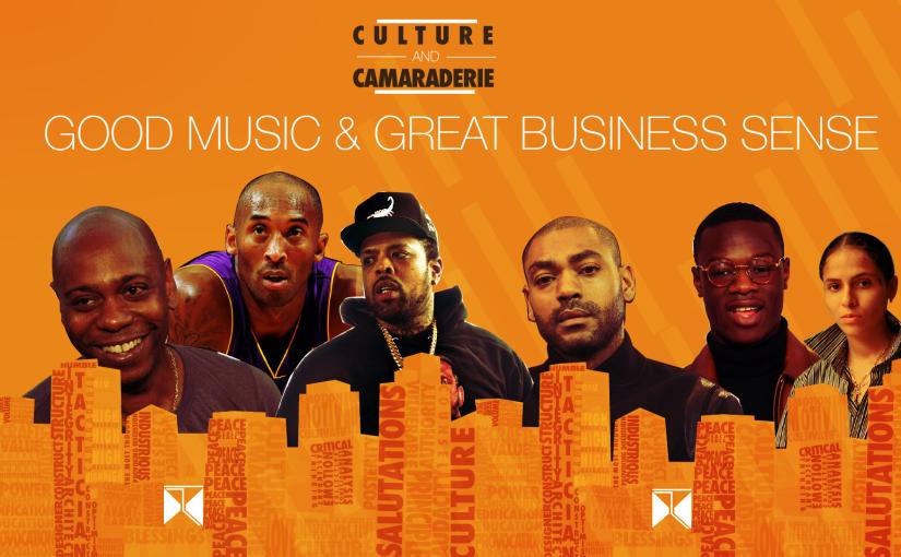 Culture And Camaraderie Podcast:  GOOD MUSIC & GREAT BUSINESS SENSE (@camaraderiepod)
