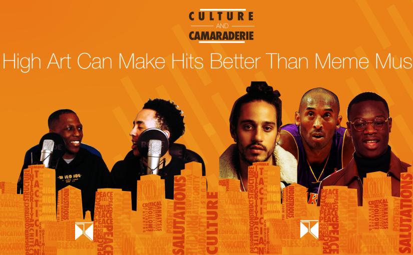 Culture And Camaraderie Podcast:  PRODUCING HQ ART(@camaraderiepod)
