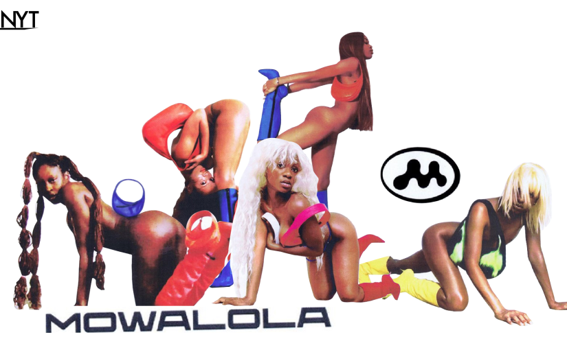 "The Mowalola Maven – Her Five Supermodels ""The Mowalola Girl"" A confident Punk Rocker"